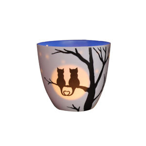 Light Glow Golden Kreis, Liebe Katzen Klein Kerze Teelichthalter Teelicht Heim