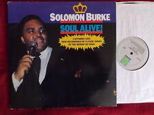 Solomon Burke - Soul alive !    D-LP kanadische Rounder Rec.