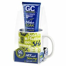 Grace Cole Homme Sport Hot & Steamy Shower Gel Gift Set With Tea Coffee Cup