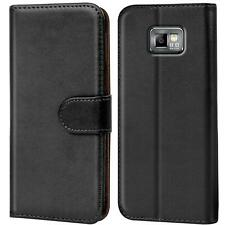 Schutz Hülle Für Samsung Galaxy S2 S2 Plus Handy Klapp Schutz Tasche Flip Case