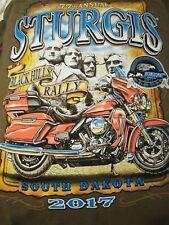 STURGIS Black HILLS RALLY XL New Brown T-Shirt 🌟 Mt. Rushmore