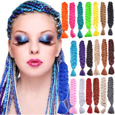 41'' Long Synthetic Kanekalon Jumbo Crochet Braiding Hair Extensions Twist Braid