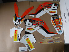 TEAM BTO KTM GRAPHICS SX SXF XC  2007 2008 09 10 & EXC XCWF XCW 2008 09 10 11