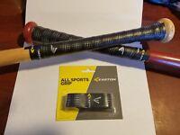 "1 Black Easton Cushion Bat Grip 1.6 mm ""All Sport Grip"" Baseball, Softball, Golf"