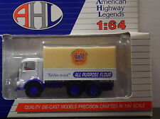 AMERICAN HIGHWAY LEGENDS GOLD MEDAL ALL PURPOSE FLOUR TRUCK 1/64 SCALE DIECAST