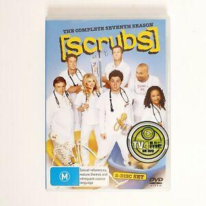 Scrubs Season 7 TV Series DVD Region 4 AUS - 2 x Disc Set