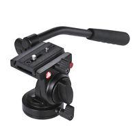 KINGJOY KH-6750 Flexible Aluminum Camera Video Fluid Tripod Head for Cameras