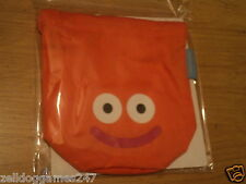 SQUARE ENIX DRAGON QUEST ORANGE KIT MINI Coulisse medaglia / Dadi Bag-NUOVO SIGILLATO