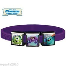 MONSTERS UNIVERSITY ROXO Small SILICONE BRACELET (3 Charm) ~ Party Supplies Mike