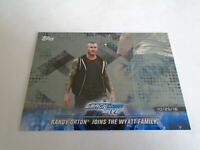 2018 TOPPS WWE SMACK DOWN LIVE RANDY ORTON #59 SILVER SP #1/25 RARE LOOK!