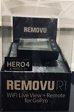 Brand New in Box! REMOVU R1 WiFi Live View + Remote for GoPro HERO4 & HERO 3, 3+
