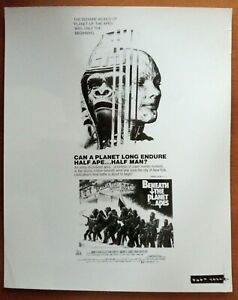 POSTER ART PRESS PHOTO BENEATH THE PLANET OF THE APES