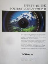 5/1992 PUB CFM INTERNATIONAL SNECMA GENERAL ELECTRIC CFM56 ENGINE ORIGINAL AD