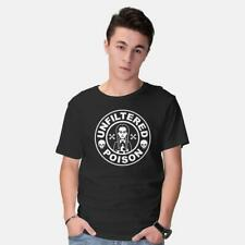 Freshly Brewed Poison Wednesday Addams Family Hate Everything Black T-Shirt