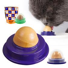 Gato bocadillos Catnip Azúcar Caramelo lamiendo Nutrición sólido Juguetes bola de energía saludable