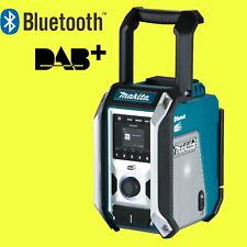 MAKITA Akku-Baustellenradio DMR115 mit Bluetooth DAB/DAB+ 12 - 18 Volt Subwoofer
