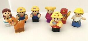 8 Mega Bloks First Builder Blocks Replacement Toddler Size Figure Boys Girls Cat