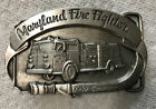 VINTAGE MARYLAND FIREFIGHTERS 1985 LIMITED ED. BELT BUCKLE NEW/OLD STORE STOCK