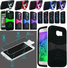 [ NP ARMOR ] GLASS Screen Guard + Phone Case For Samsung Galaxy S6 / G920A G920