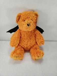 "10"" Godiva Chocolate Teddy Bat Bear Gund Halloween Holiday Orange Plush"