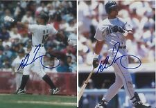 Derrick May 1995-1996 Houston Astros Outfielder Signed Autographed 5x7 Photo COA