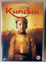 Kundun DVD 1997 Scorsese True Life Dalai Lama Tibet Drama Biopic Classic