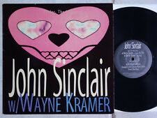 """John Sinclair with Wayne Kramer – Friday, the 13th 10"""" Vinyle Alive Records"""