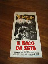 LOCANDINA,IL BACO DA SETA TILLER  SEQUI GEORGE HILTON GUY MADISON 1973 S/6