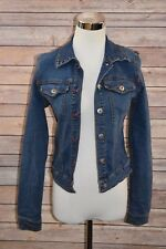 3a784c75cba Ecko Red Womens Juniors Denim Jean Jacket Small Cotton Spandex Blend