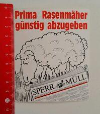 Aufkleber/Sticker: Sperr Müll Kostenlose Kleinanzeigen (26081658)