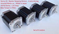 Stepping Motor Nema23 1.75Nm VEXTA PK268D14A Oriental Motor 1.8°/Step 6.02V 1.4A