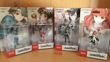 Série Amiibo Fire Emblem, Alm, Tiki, Chrom, Celica, first print, neufs WiiU 3DS