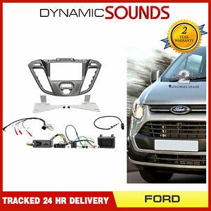 CTKFD41 Autoradio Double din Carénage Direction Kit Pour Ford Custom Transit