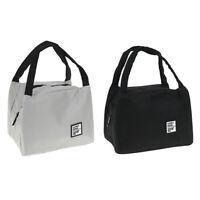 1 Pc Lunch Bag Isotherme Pique-Nique Boîte Fourre-Tout Refroidisseur Sac De FE
