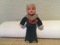 "Celluloid Vintage 1930's Japan US Navy 4.25"" Sailor Doll X-Condition"