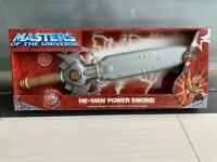 """Mattel 25"""" Masters Of The Universe He-Man Light & Sound Power Sword New"""