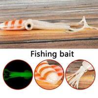 Tintenfisch Fischköder Hecht Lachs Köder Bass Trout Fishing Rigs-Tackle-Boa W3Q9