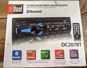 BRAND NEW IN OPEN BOX Dual Electronics DC207BT CD Player In Dash Unit