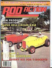 Rod Action Magazine November 1982 Super Bell I-Beam Axle EX w/ML 031317nonjhe