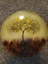 Tree Wooden Decorative Plate