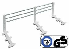 Bed Guard, extendable and height-adjustable white