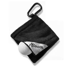 """Frogger Amphibian Golf Ball Towel - Size 4"""" x 4"""" small enough to fit in pocket"""