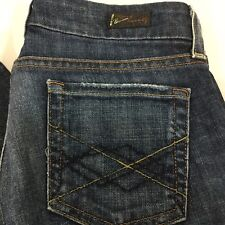 Citizens of Humanity Blue Jeans Tag Sz 25 X 32 Straight Leg Distressed USA COH