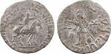 Empire Scythe, Azès II (35-5 av J-C), tétradrachme, Taxila - 95