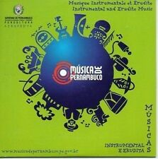 (830Y) Musica De Pernambuco, Instrumental & Erudite CD