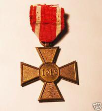 SERBIAN  MILITARY ORDER , MEDAL, CROSS . 1913.