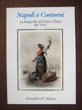 """2004 FACSIMILE """"NAPOLI e CONTORNI"""" by GATTI & DURA, 1857."""