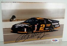 RUSTY WALLACE #2 NASCAR PSA/DNA Autographed FORD 5 X 7 Photograph A3899