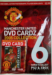 Manchester United DVD CARDZ 2005 Collection  ~16 ROY KEANE  ~ (Sealed unopened)