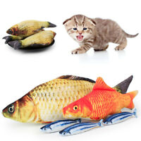 Artificial Funny Fish Plush Cat Toys Mint Catnip Pet Supplies Sleeping Toy